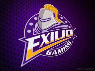 eXilio Gaming Logo (aekro) Kumpulan Logo Squad ML