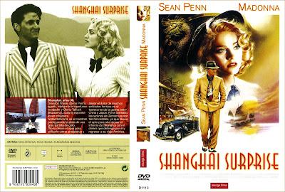 Cover, caratula, dvd: Shanghai Surprise | 1986