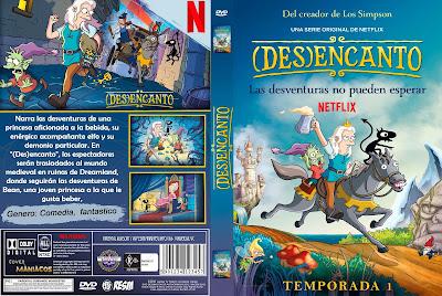 CARATULA DISENCHANTMENT - DESENCANTO - (DES)ENCANTO [COVER-DVD]