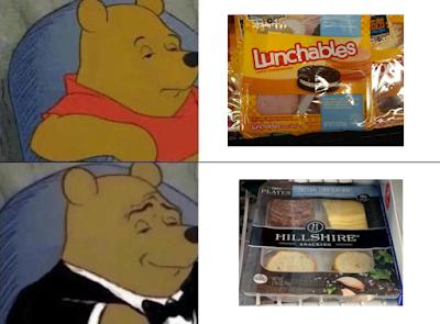 Funny Posh Pooh Bear Meme Picture