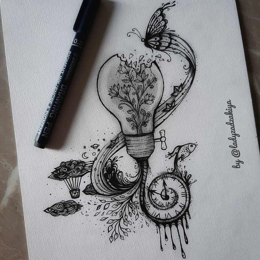 05-Everything flows from time-Anugrah-Momof-Mandala-Art-www-designstack-co