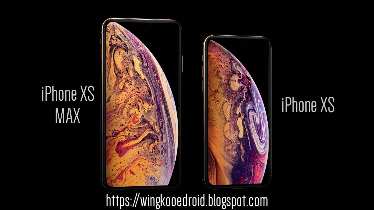 IPhone XS Max Vs Iphone XS