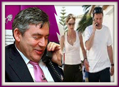 Gordon Brown and the political interference in the Maddie case via Clarence Mitchell Brown%2Bon%2Bphone%2Bto%2Bgerry