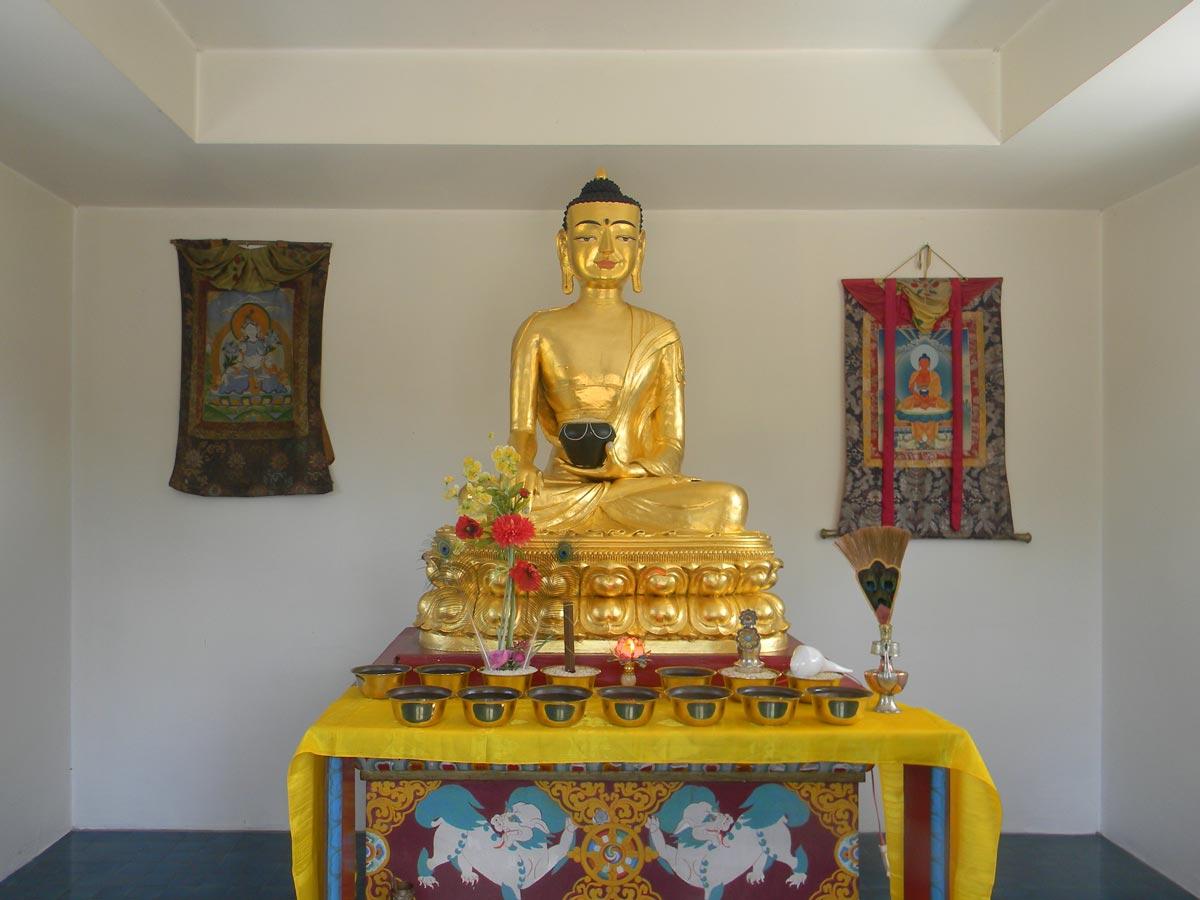 Stupa du temple des mille Bouddhas, Dashang Kagyu Ling