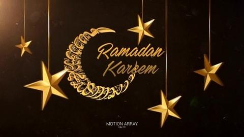 قالب افتر افكت رمضان كريم 2018 للافتر افكت CS4 فأعلى