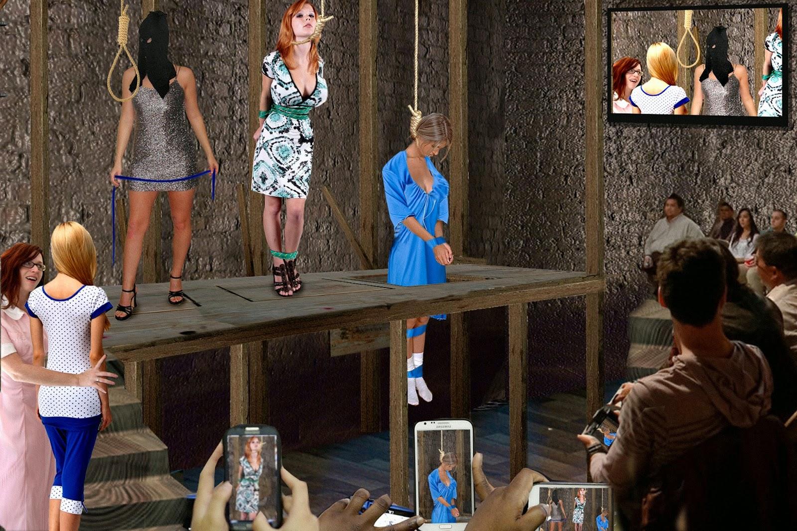 Порно повешенные онлайн, девушки перед зеркалом блондинки