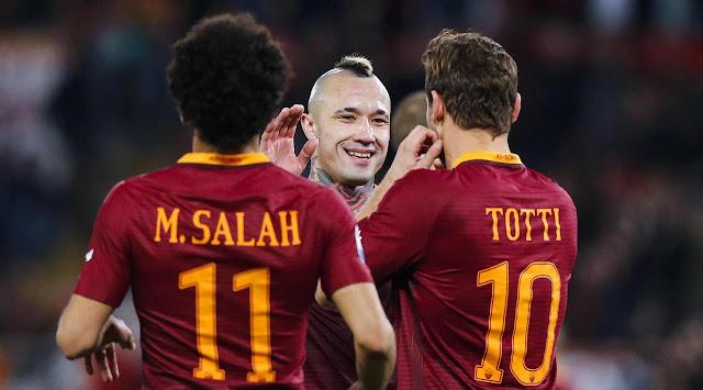 As Roma Berhasil Membuat Inter dan MU Gigit Jari