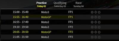 Jadwal MotoGP Inggris 2016