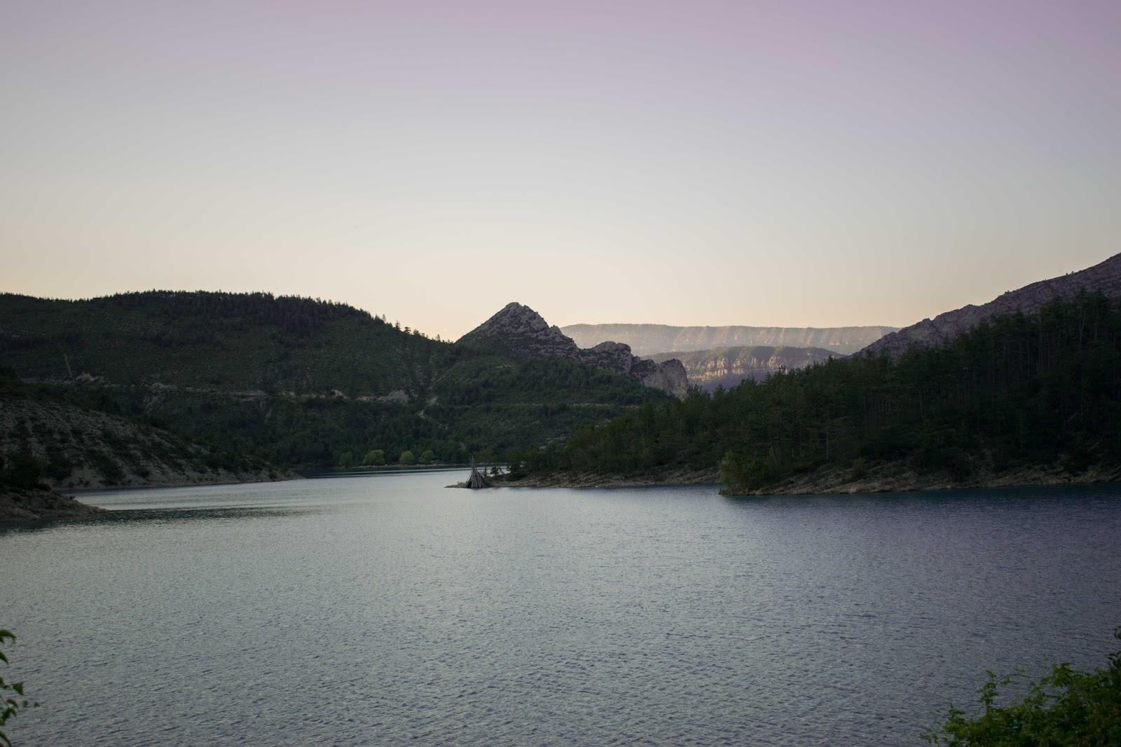 eau, nature, verdure, lac