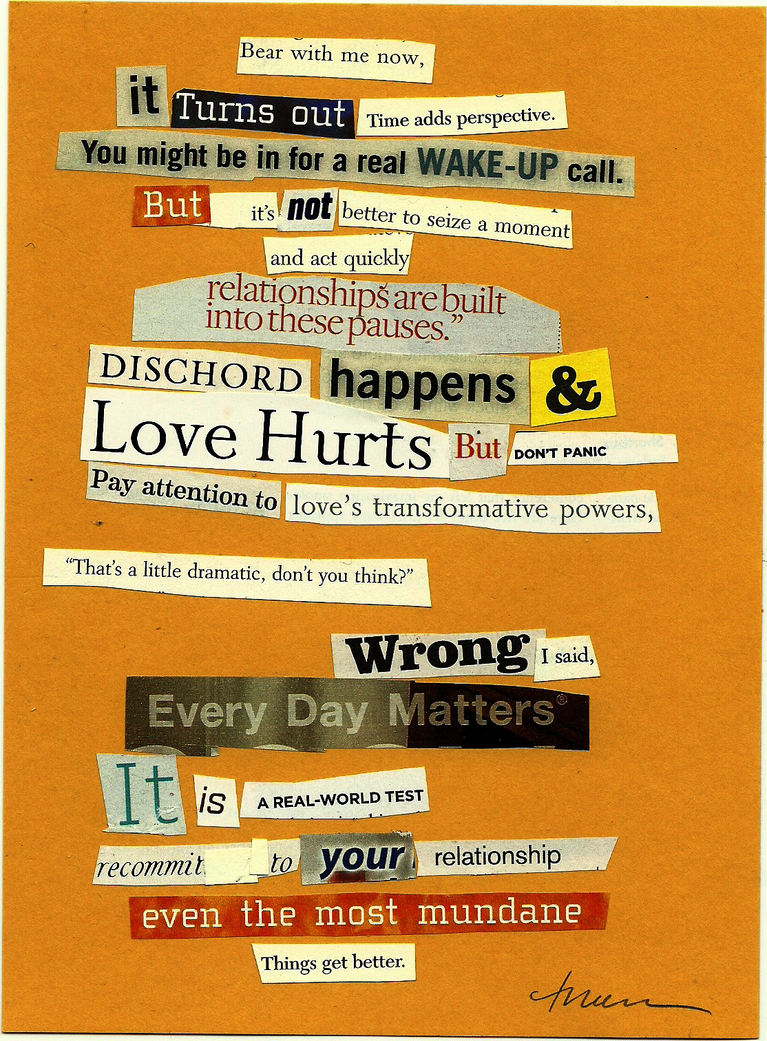 The Collage Poet A Valentine Collage Poem