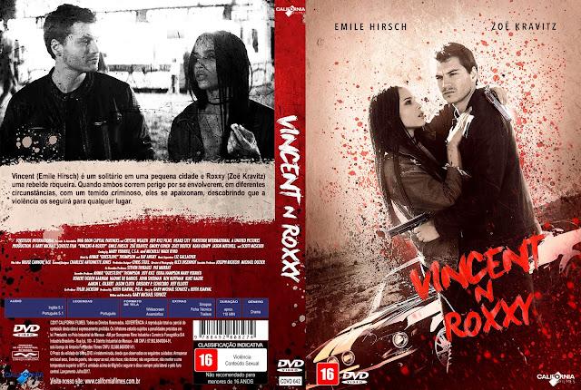 Capa DVD Vincent N Roxxy [Exclusiva]