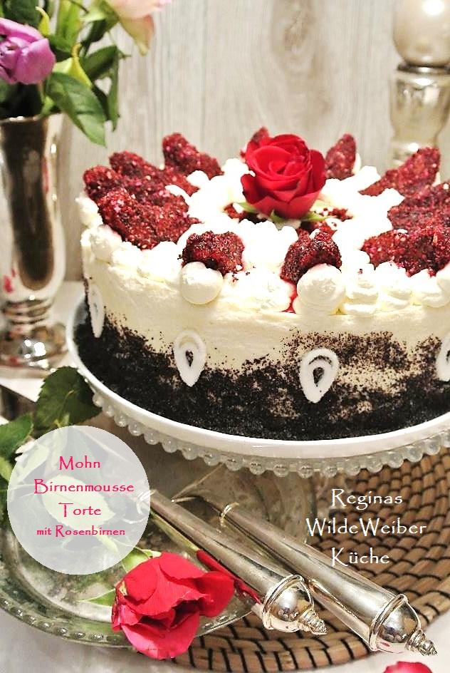 Reginas Wilde Weiber Kuche Tortenwunsch Heute Mal Torte Statt