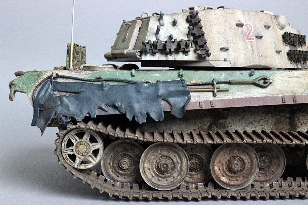 Muzaffer Onat modelling blog: E-75 Paper Panzer