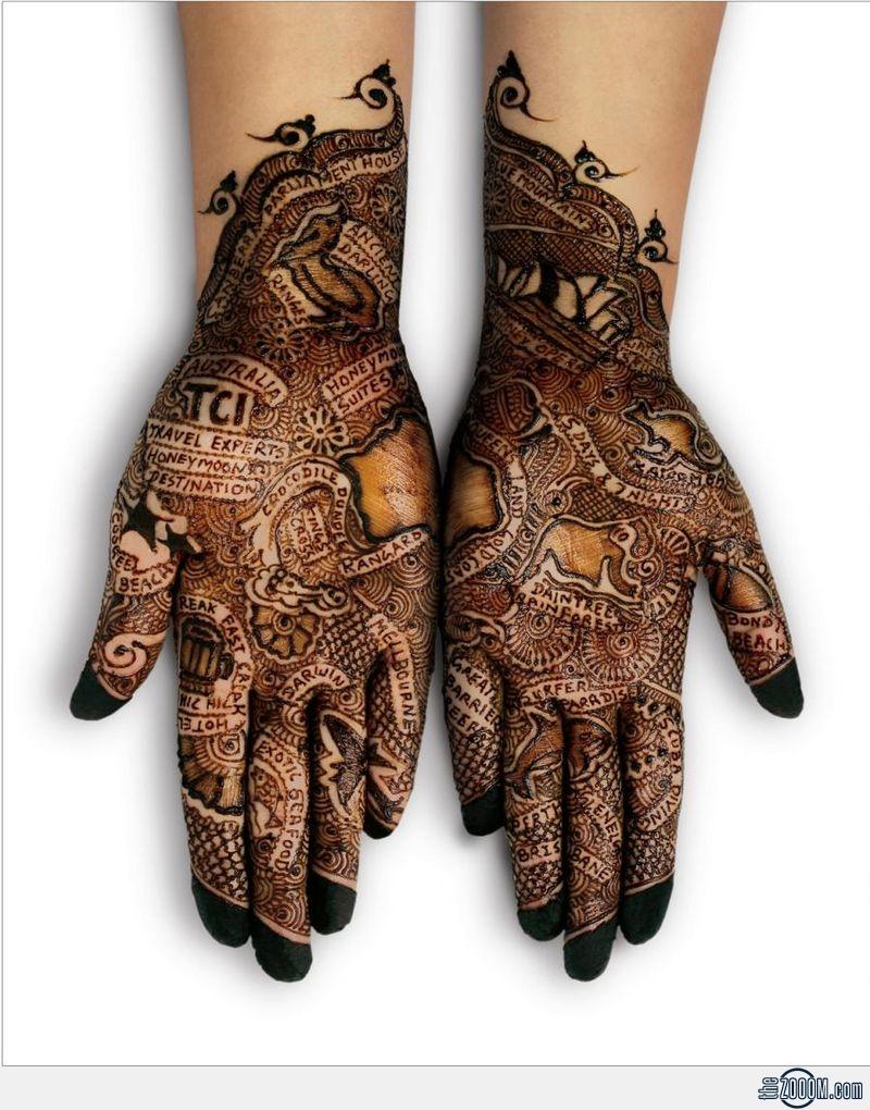 The Gorgeous Indian Henna Tattoo Art: Tattoo Sexy: Tattoo Designs