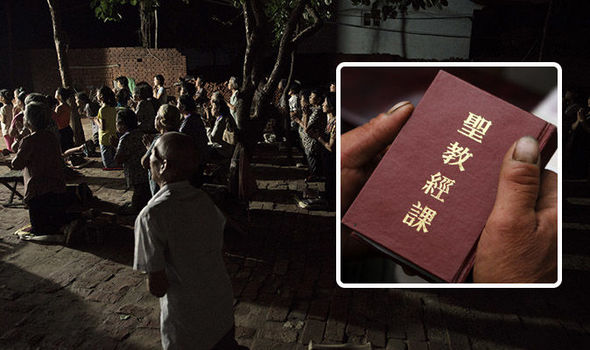 1,100 'ILLEGAL' Bibles SEIZED by police in China