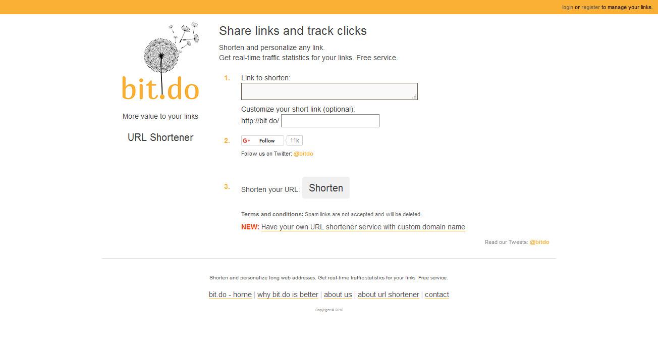 situs terbaik untuk mempersingkat url