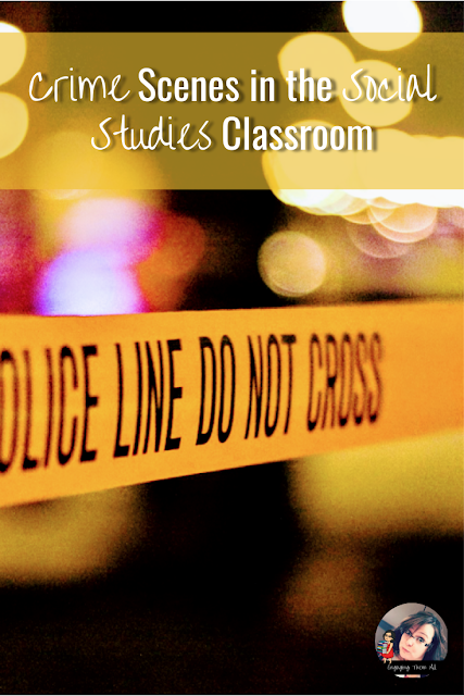 Crime Scenes in the Social Studies Classroom #socialstudies #inquirymindset #bostonmassacre #activities #kids #lessonplans