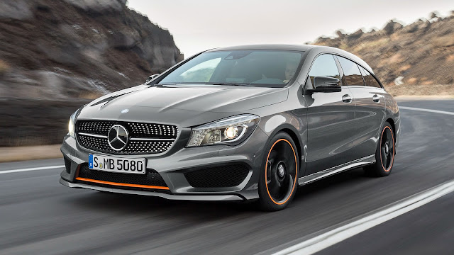 Mercedes AMG CLA 45 4MATIC OrangeArt Edition 2015