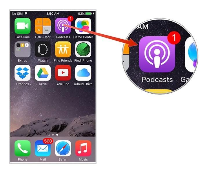 كيفية تخصيص تطبيق بودكاست على جهاز iPhone الخاص بك