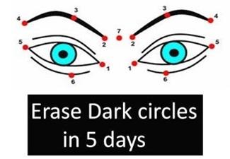 Remove Dark circles in 5 DAYS | 5 MIN MASSAGE