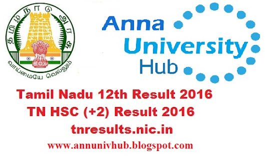 Tamil Nadu 12th HSC Results 2016 to be declared at tnresults.nic.in