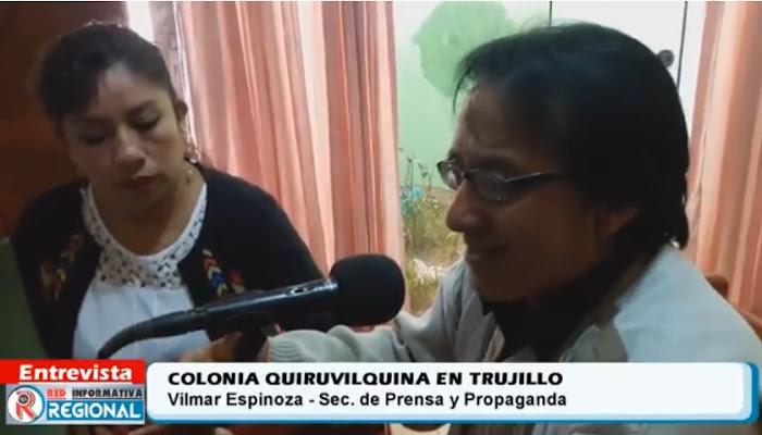 Colonia Quiruvilquina en Trujillo busca aportar al desarrollo de Quiruvilca