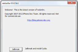 Download RedSn0w v0.9.15b1 Untuk Jailbreak iOS 6 Tethered Dan Downgrade iOS Firmware