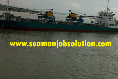 Jobs on cargo vessel
