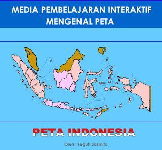 Ayo Belajar Peta Indonesia (Ilmu Pengetahuan Sosial)