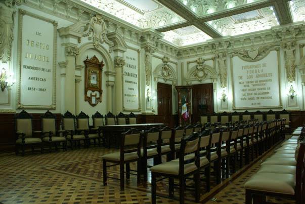 Salón de Cabildos de Puebla