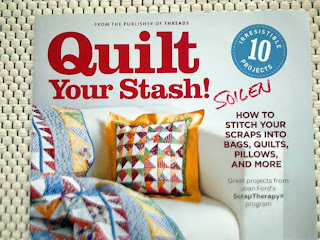 Quilt Your Stash -lehden kansi