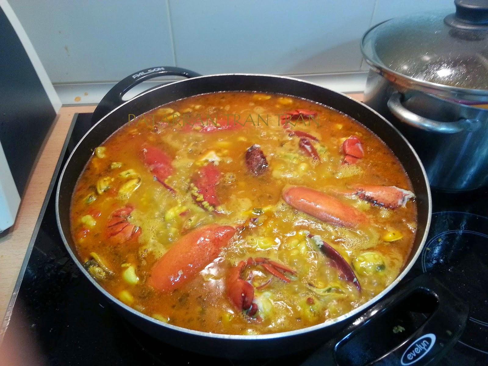 Arroz Meloso Bogavante, Cocina tradicional española