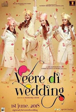 Veere Di Wedding 2018 Hindi 480p pDVDRip Cleaned Audio Download