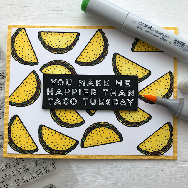 Sunny Studio Stamps: Fast Food Fun Customer Card Share by Ashley Hughes