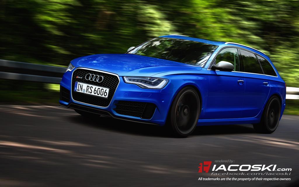 Rendered: Next-gen Audi RS6 Avant (C7) | quattroholic com