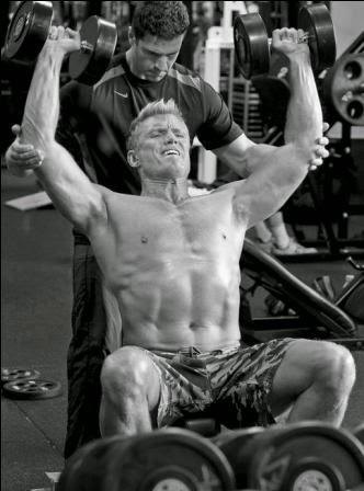Dolph Lundgren Workout...