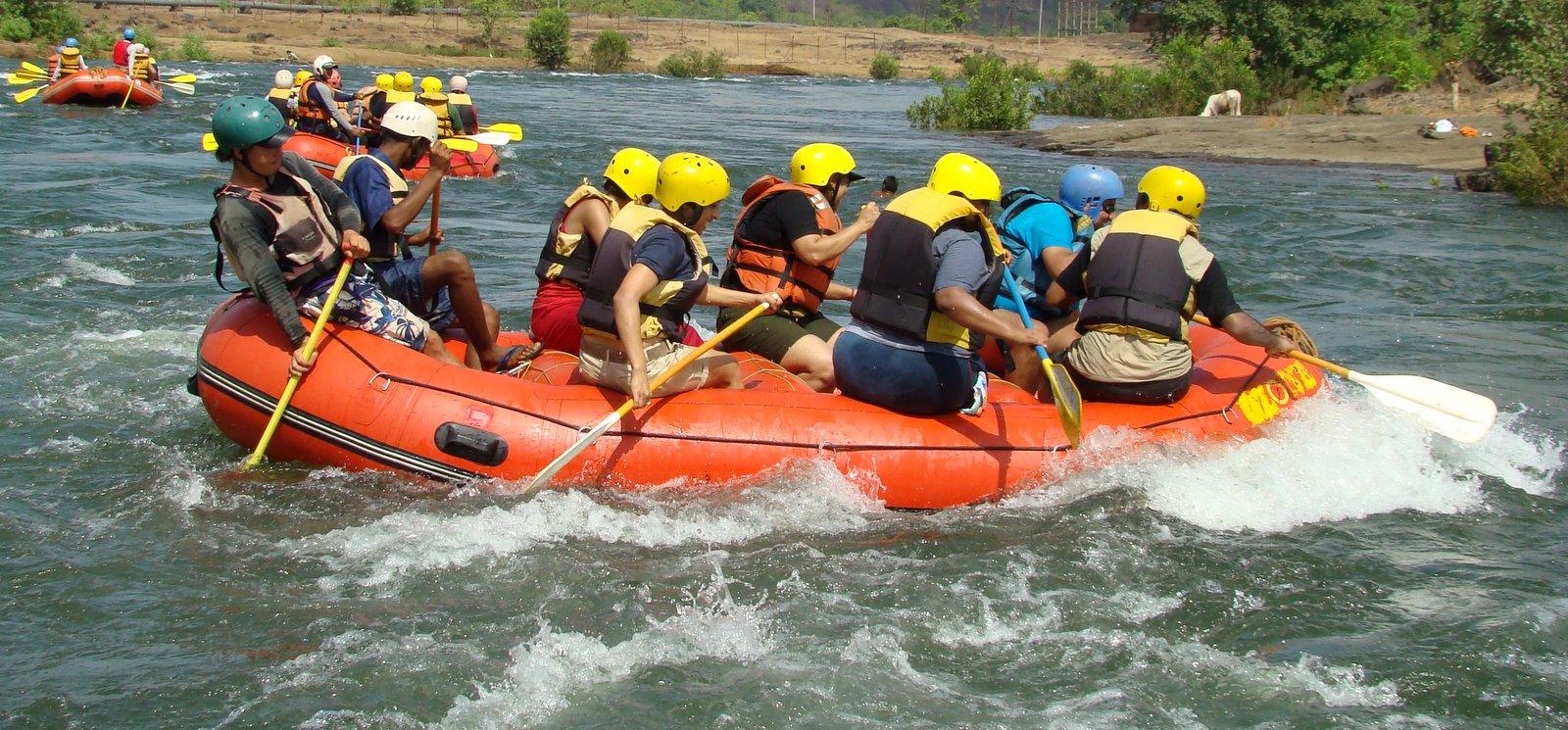 Nature Knights: White Water Rafting