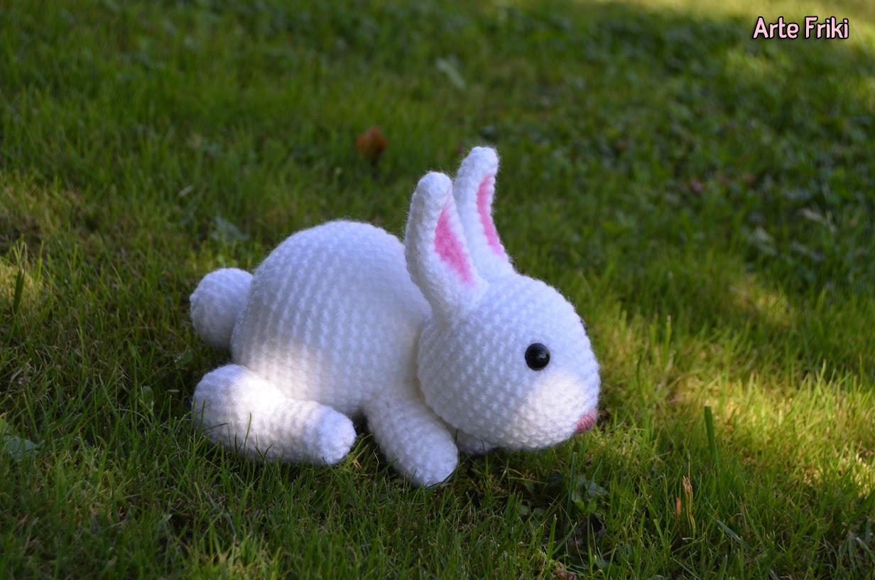 Amigurumi Conejo Kawaii : Conejo de campo amigurumi arte friki
