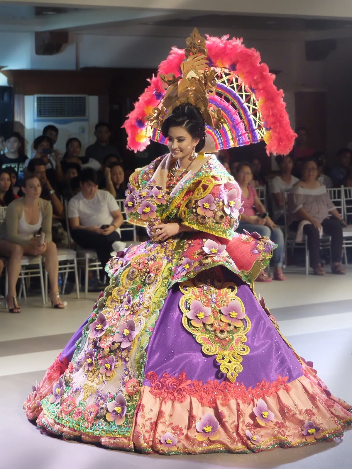Kadayawan Festival of Davao City by Geronie Labora Festival de las Bellas y Flores Gown Competition National Costume