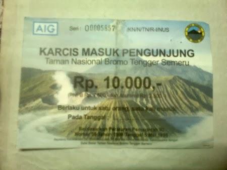 Harga Tiket Masuk Gunung Bromo 2019 Paket Wisata Bromo