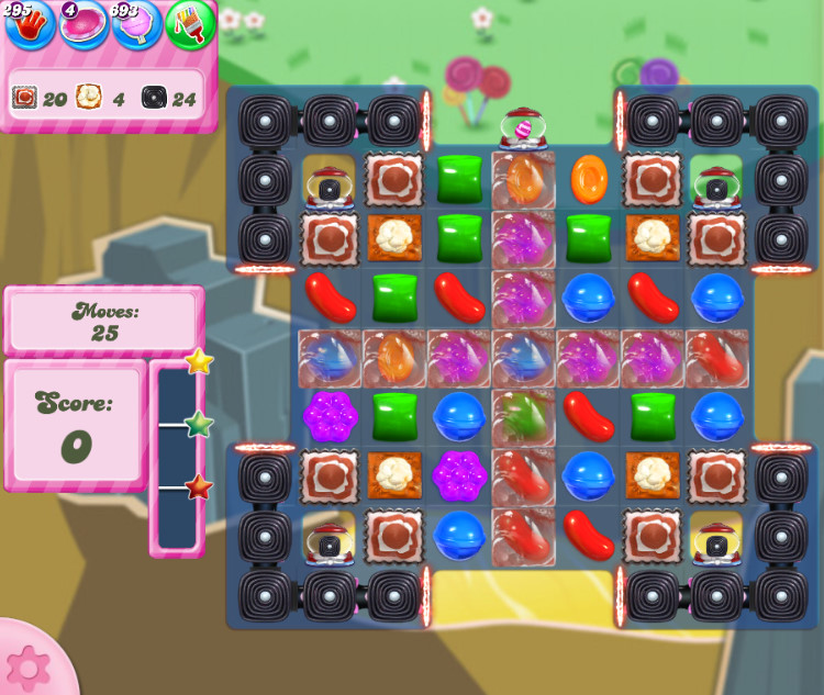 Candy Crush Saga level 2845