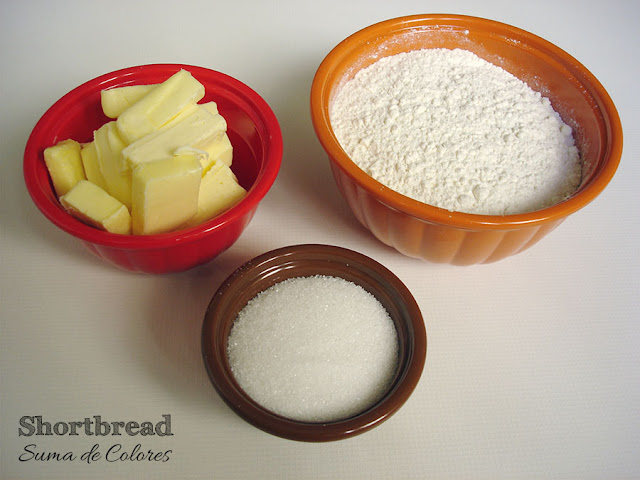 Shortbread-ingredientes