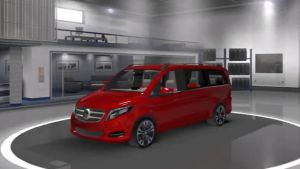 Mercedes Viano mod for ETS2