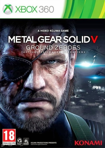 Metal Gear Solid V Ground Zeroes XBOX 360 NTSC Español