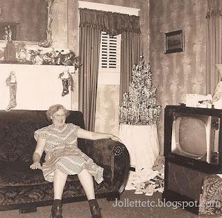 Granny Julia Walsh Slade 1952  http://jollettetc.blogspot.com