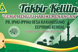 Download Design Spanduk/MMT Takbir Keliling (.cdr)