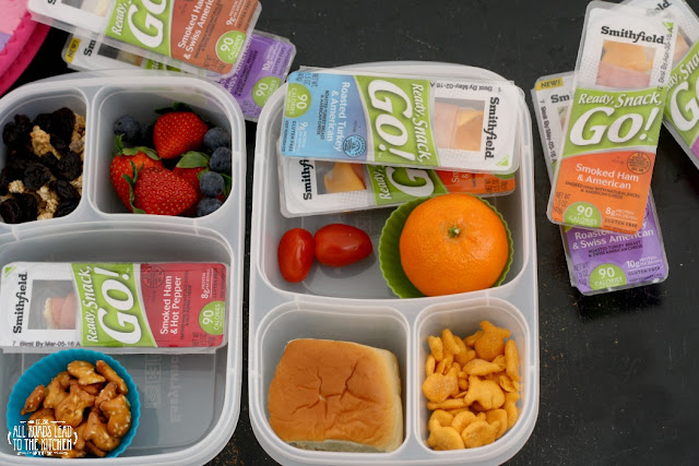 Satisfy Hunger On-the-Go with Ready, Snack, Go!