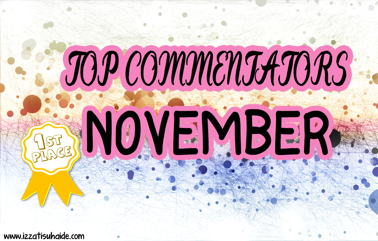 Mencari Top Commentators November