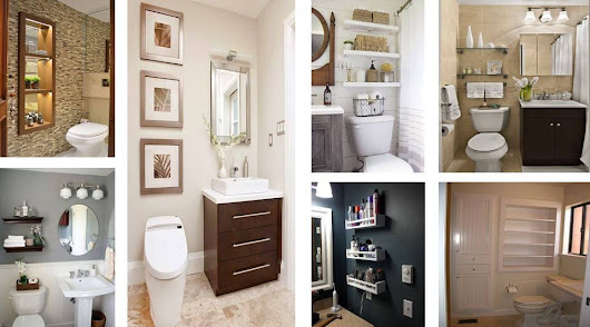 Architecture & Design: 16 great ideas of shelves for bathrooms. They'll fascinate you!