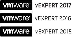 Thanks to VMware for the vExpert Award...